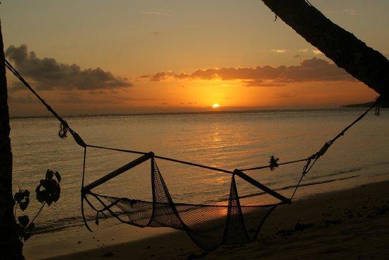 Mango Bay Resort Fiji: sunset