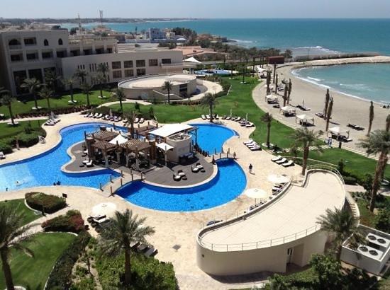 Sofitel Bahrain Zallaq Thalassa Sea & Spa: view from our balcony