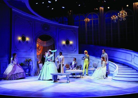 Shakespeare Theatre of New Jersey: The Misanthrope, 2011 © Gerry Goodstein