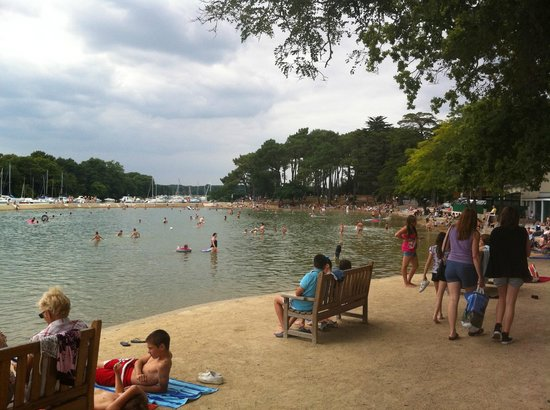 Vannes, Frankrig: Conleau sea water 'swimming pool'