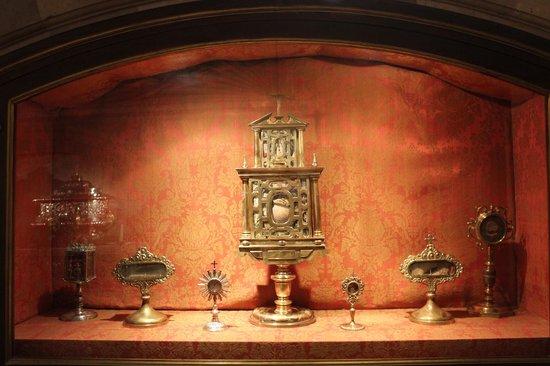 Catedral de Alcalá de Henares: reliquias de los santos niños