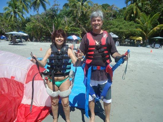 Aguas Azules Parasailing & Watersports Tours: Listos