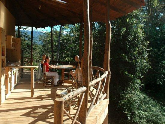 Esquinas Rainforest Lodge: Porch of Jungle Villa