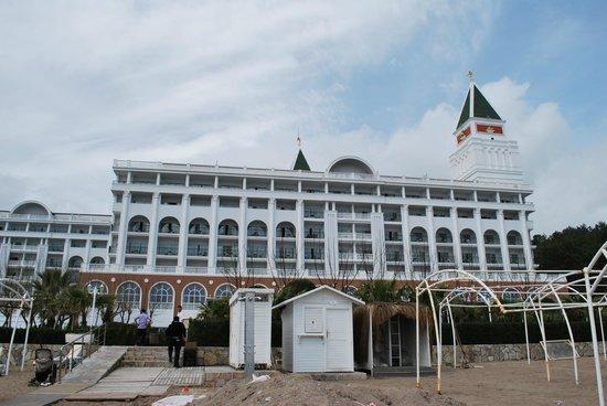 Amara Dolce Vita Luxury: Das Hauptgebäude