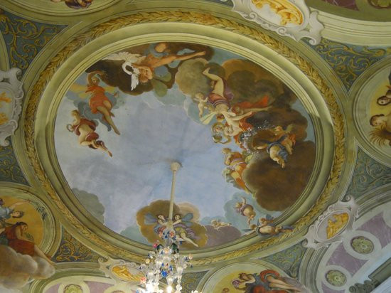 Villa Manin di Passariano: Affresco all'ingresso di Villa Manin