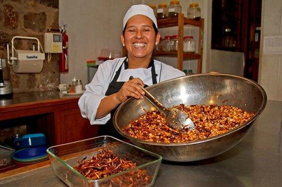 Hacienda San Agustin De Callo: Chulpi tostado