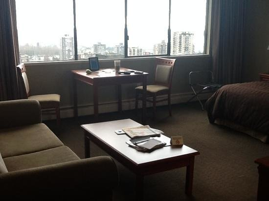 Century Plaza Hotel & Spa: lots of room, great views (room 2605)