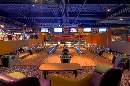 mini bowling big game room arcade picture of kalahari