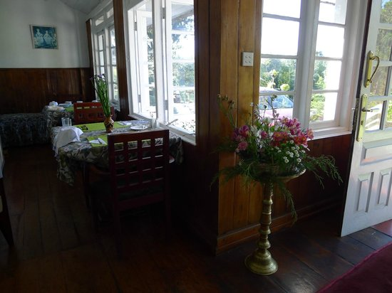 The Trevene Hotel: breakfast with a view