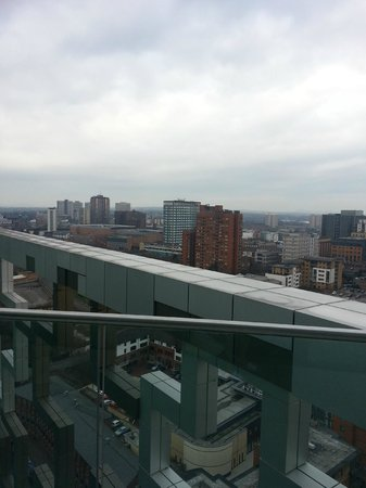 Hotel Indigo Birmingham: Nice view of the Hampton