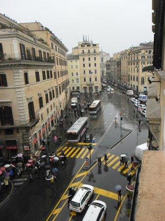 Exe Hotel Della Torre Argentina: panorama dalla mia finestra