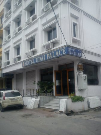 Hotel Udai Palace: the view of hotel from front