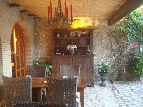 Casa Rural San Miguel Merlich: Restaurant