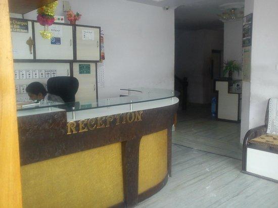 Hotel Udai Palace: reception area