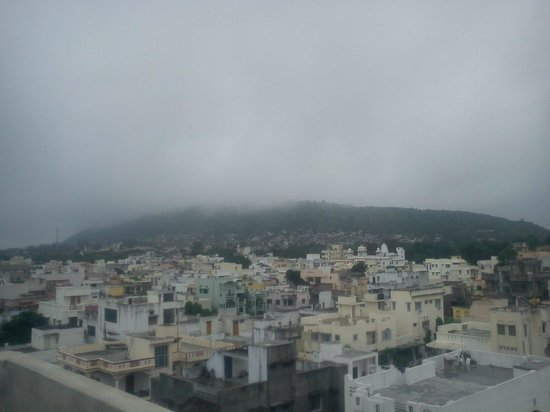 Hotel Udai Palace: from terrace