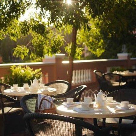 Belmond Mount Nelson Hotel: Afternoon tea in the Garden