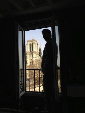 Hotel le Notre Dame: view