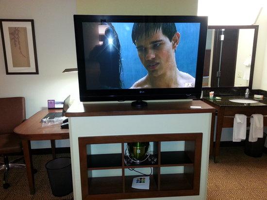 Hyatt Place Richmond Airport : TV