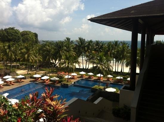 Club Med Bintan Island: view from reception 4/F