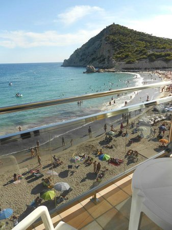Hotel La Cala: view from bedroom/balcony