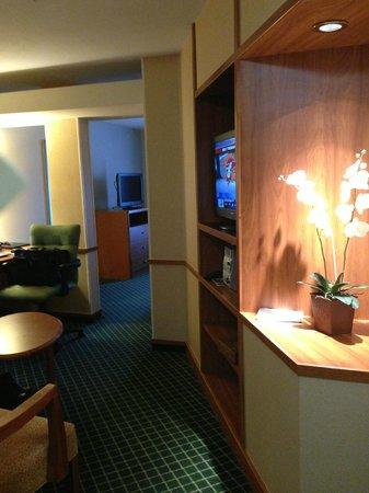 Fairfield Inn & Suites Las Vegas South : Entry to room