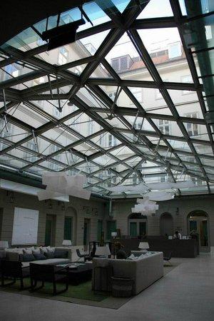 Hotel Zenit Budapest Palace: Lounge