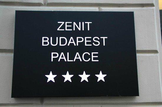Hotel Zenit Budapest Palace: Hotel
