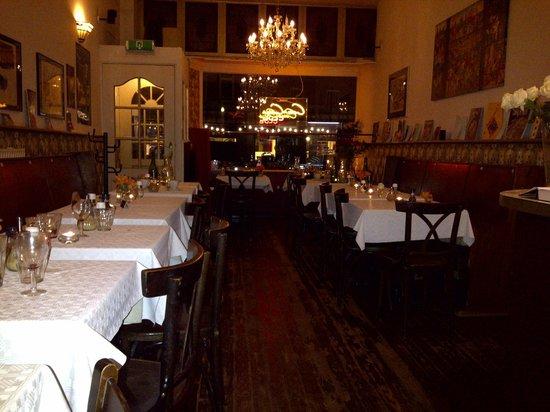 CousCous Club: Sala ristorante