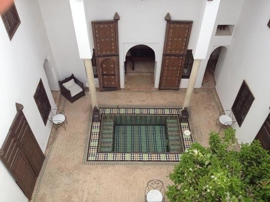 Riad Porte Royale: view from above