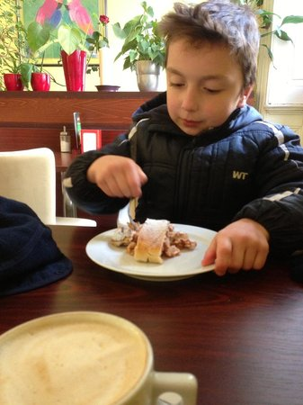 Bistro Deli and Bakery: The fresh strudel here is amazing.