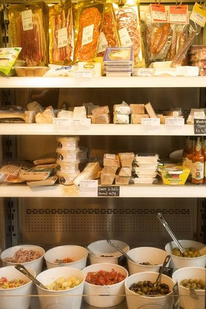 Olive Deli & Cafe: Irish and European cheese