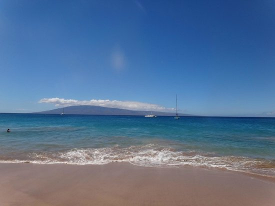 Sheraton Maui Resort & Spa: Beach view from resort