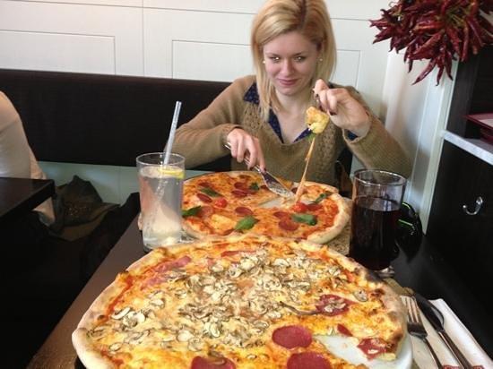 L'Osteria : pizza ;)