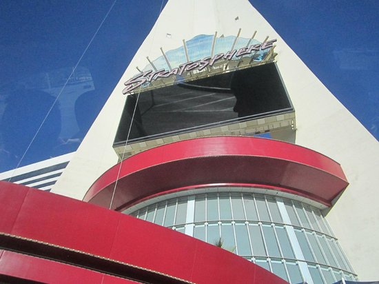 Stratosphere Hotel, Casino and Tower: Entrada do Hotel