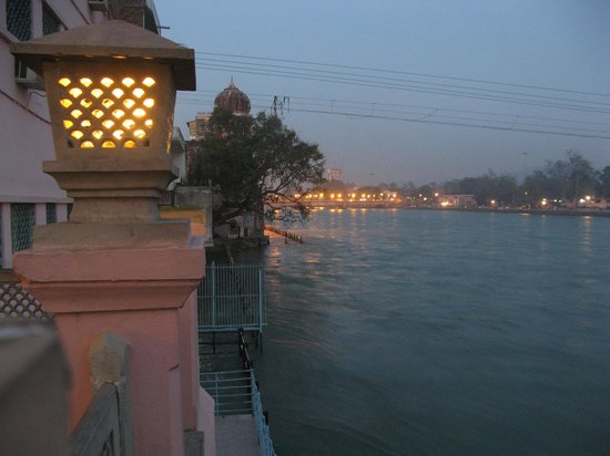 View from Haveli Hari Ganga