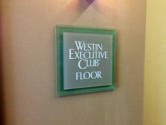 The Westin Lake Mary: Club Floor