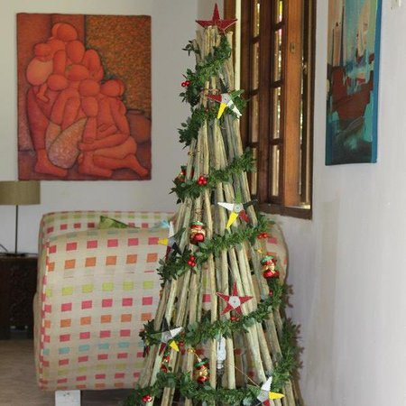 O Lar Do Ouro Guest Lodge : The lounge,Christmas