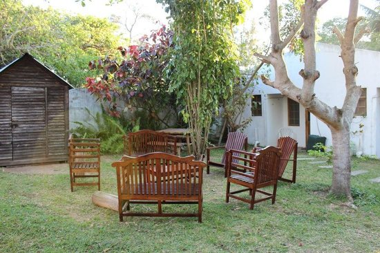 O Lar Do Ouro Guest Lodge : Gardens and recreation area