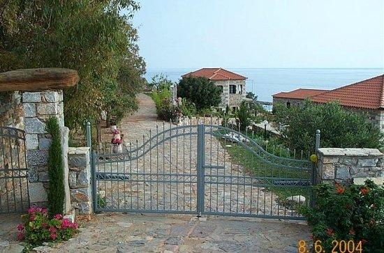 Katafigio Village: Είσοδος συγκροτήματος