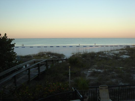 Gulf Strand Resort: View from 201