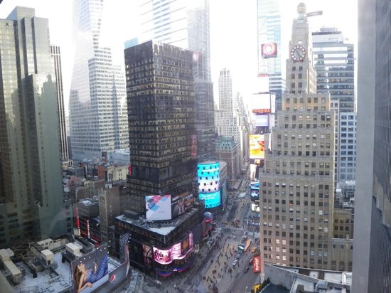 New York Marriott Marquis: View from room 2537