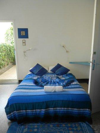 Hotel Vent des Dunes: mon lit chambre 14 !!