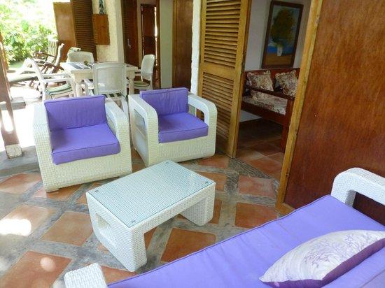 Cote Sud: Fioridi Maggio salon exterieur