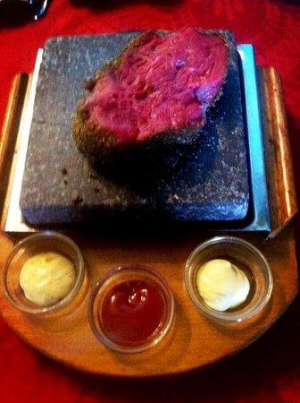 La Antorcha Restaurante : Solomillo de Buey