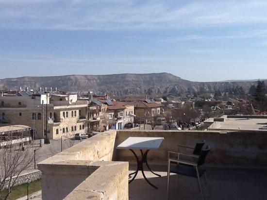 Heybe Hotel: view from breakfast