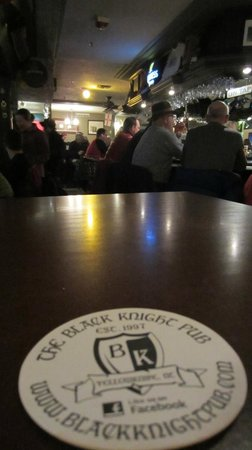 Black Knight Pub: From my coasters point of view.