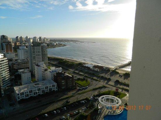 Conrad Punta del Este Resort & Casino: foto del balcón de mi habitación