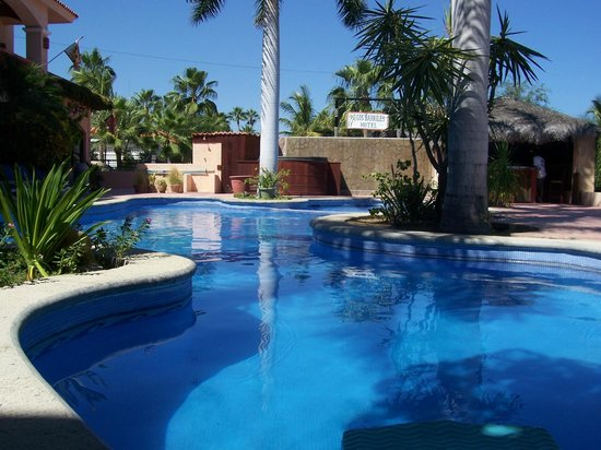 Los Barriles Hotel: Beautiful qiet pool
