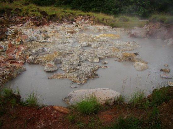 Hacienda Guachipelin: Pailas de agua