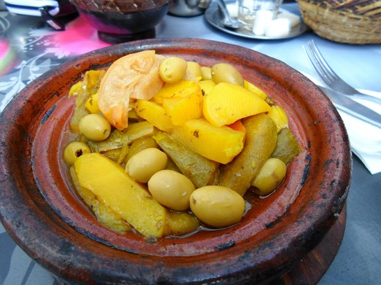 Riad Amssaffah: Veg tagine (not actually from Amssaffah but v. similar)